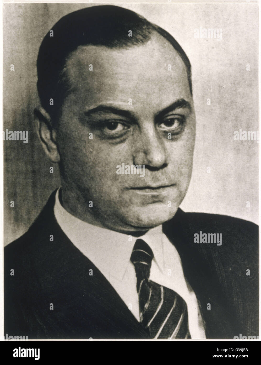 ALFRED ROSENBERG Leading proponent of National  Socialist ideology. In 1941  he was appointed Minister for the Eastern - Stock Image
