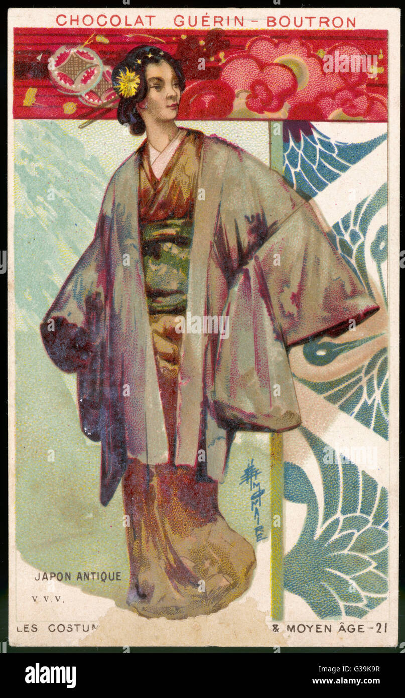 Dating vintage kimonos