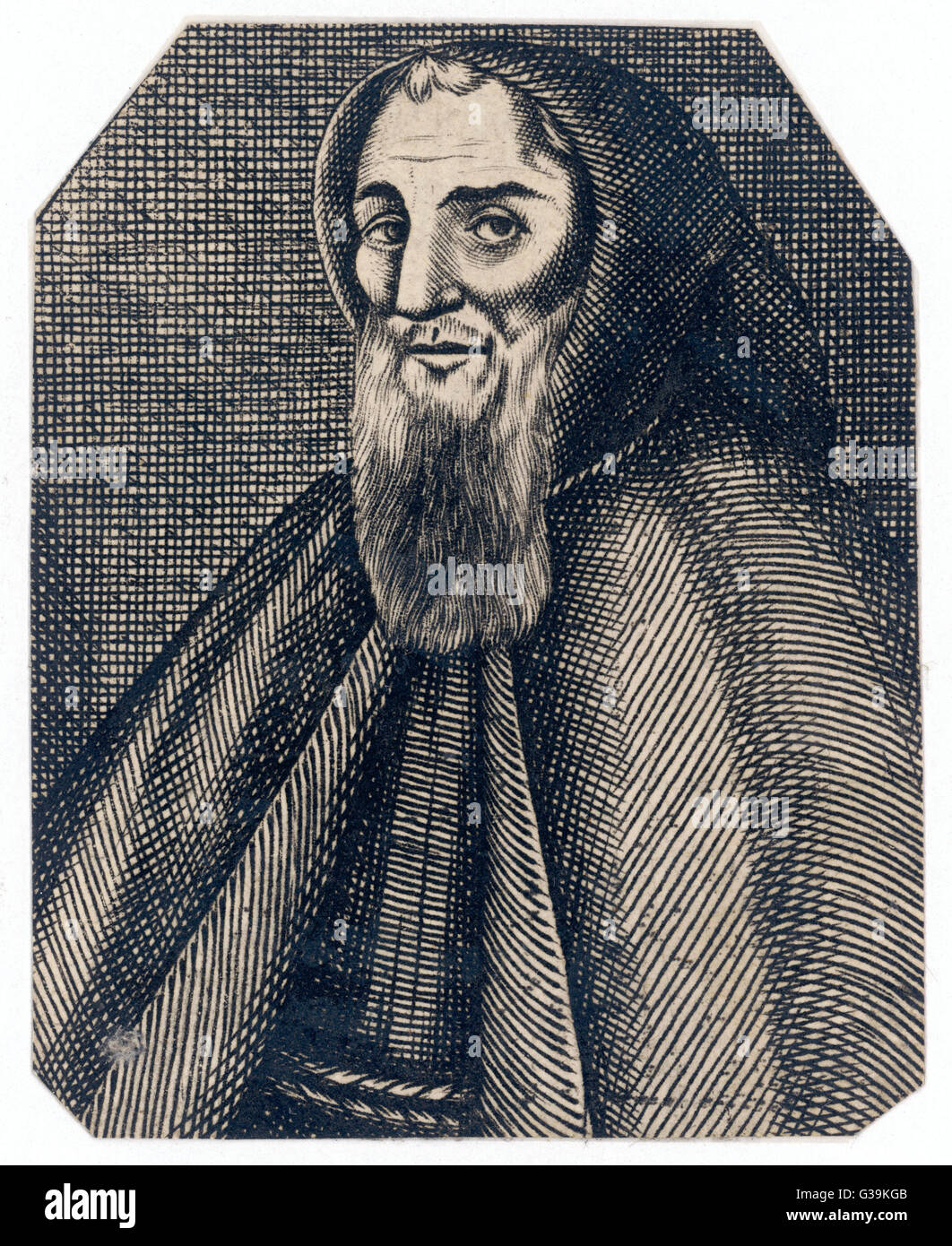 GEOFFREY CHAUCER (1340 - 1400) English poet, writer of  The Canterbury Tales - Stock Image