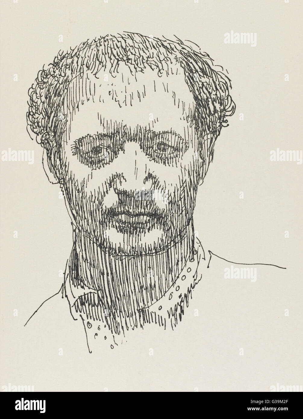 SIR JACOB EPSTEIN  Sculptor        Date: 1880 - 1959 - Stock Image