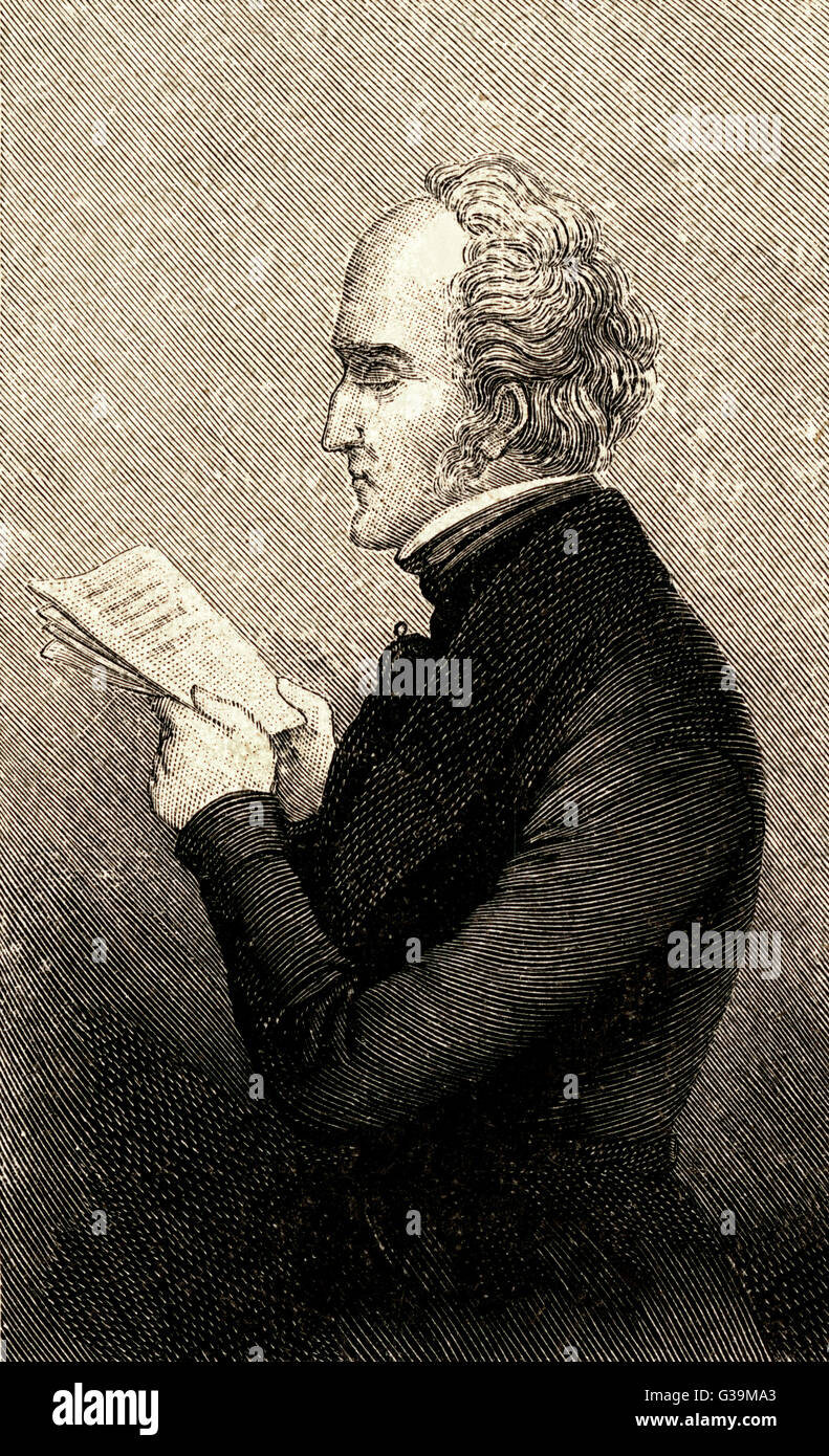 FRANCOIS-MARIE-CHARLES FOURIER  French social theorist       Date: 1772 - 1837 - Stock Image