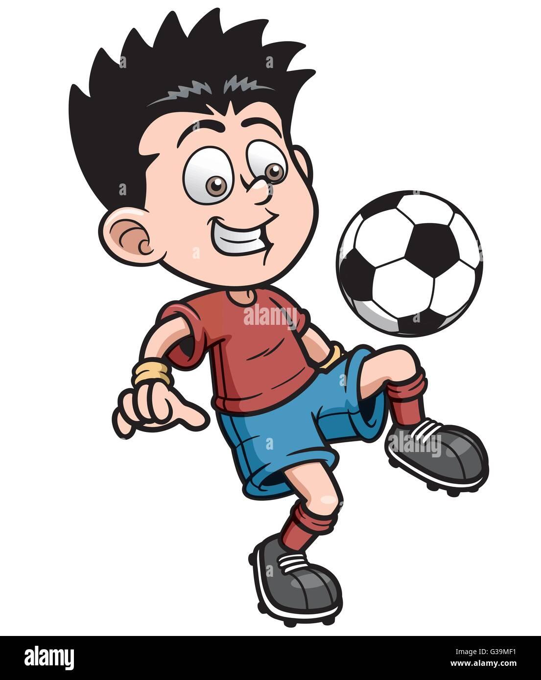 Kids Playing Soccer. Free Cartoon Images | ELSOAR