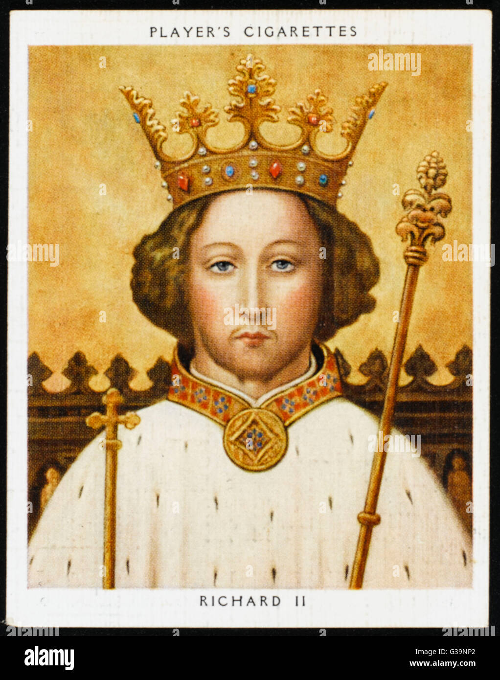 RICHARD II, KING OF ENGLAND (1367 - 1400) Reigned 1377 - 1399