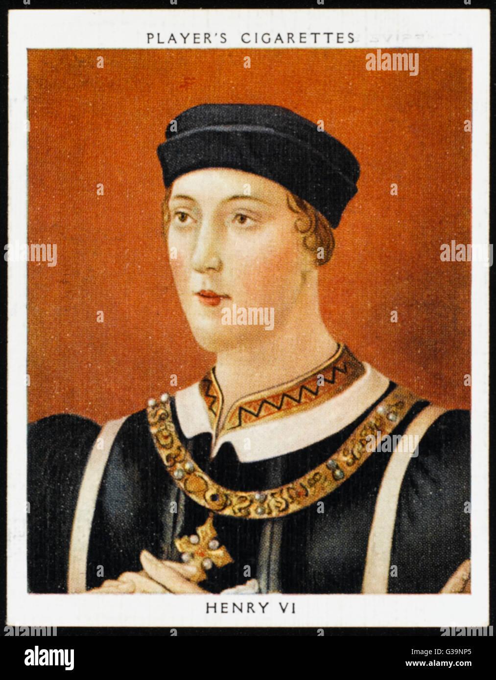 Henry Vi Of England Stock Phot...