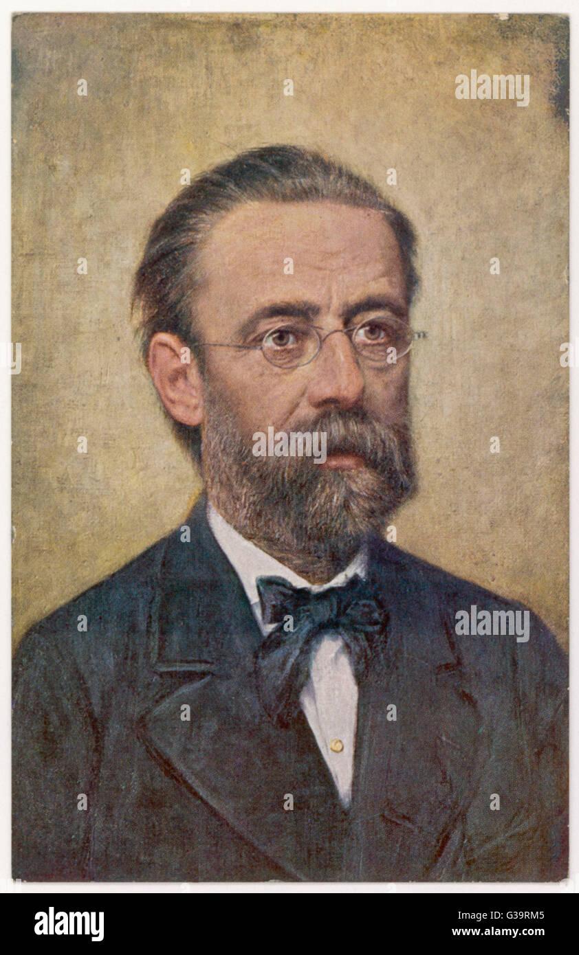 BEDRICH SMETANA  Bohemian musician        Date: 1824 - 1884 - Stock Image