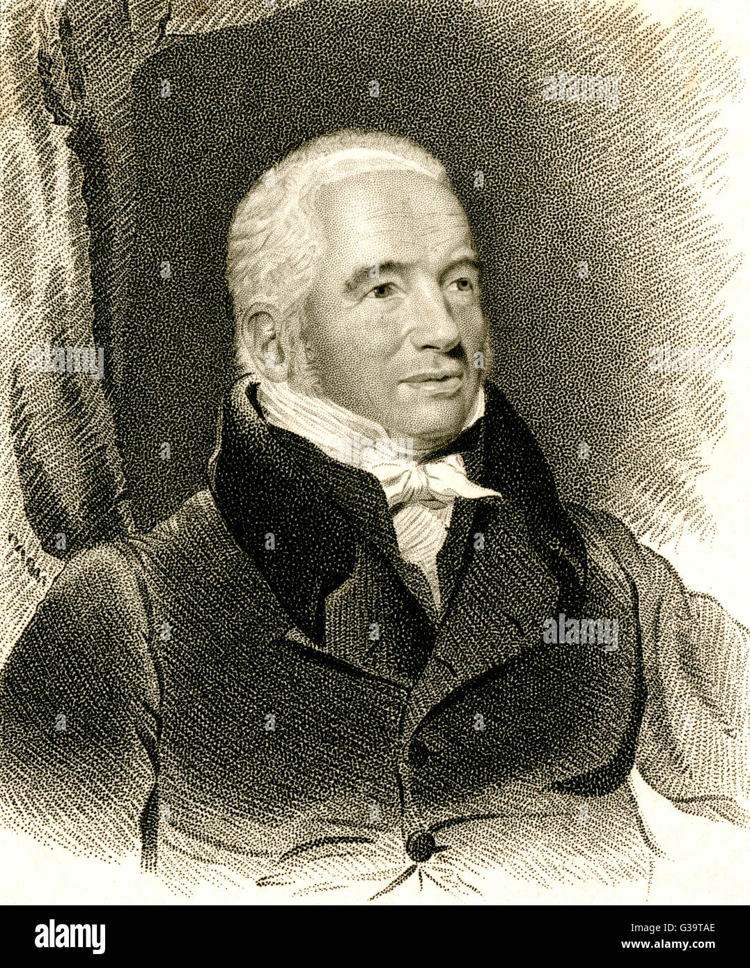 WILLIAM SCORESBY  Arctic Navigator.        Date: 1760 - 1829 - Stock Image