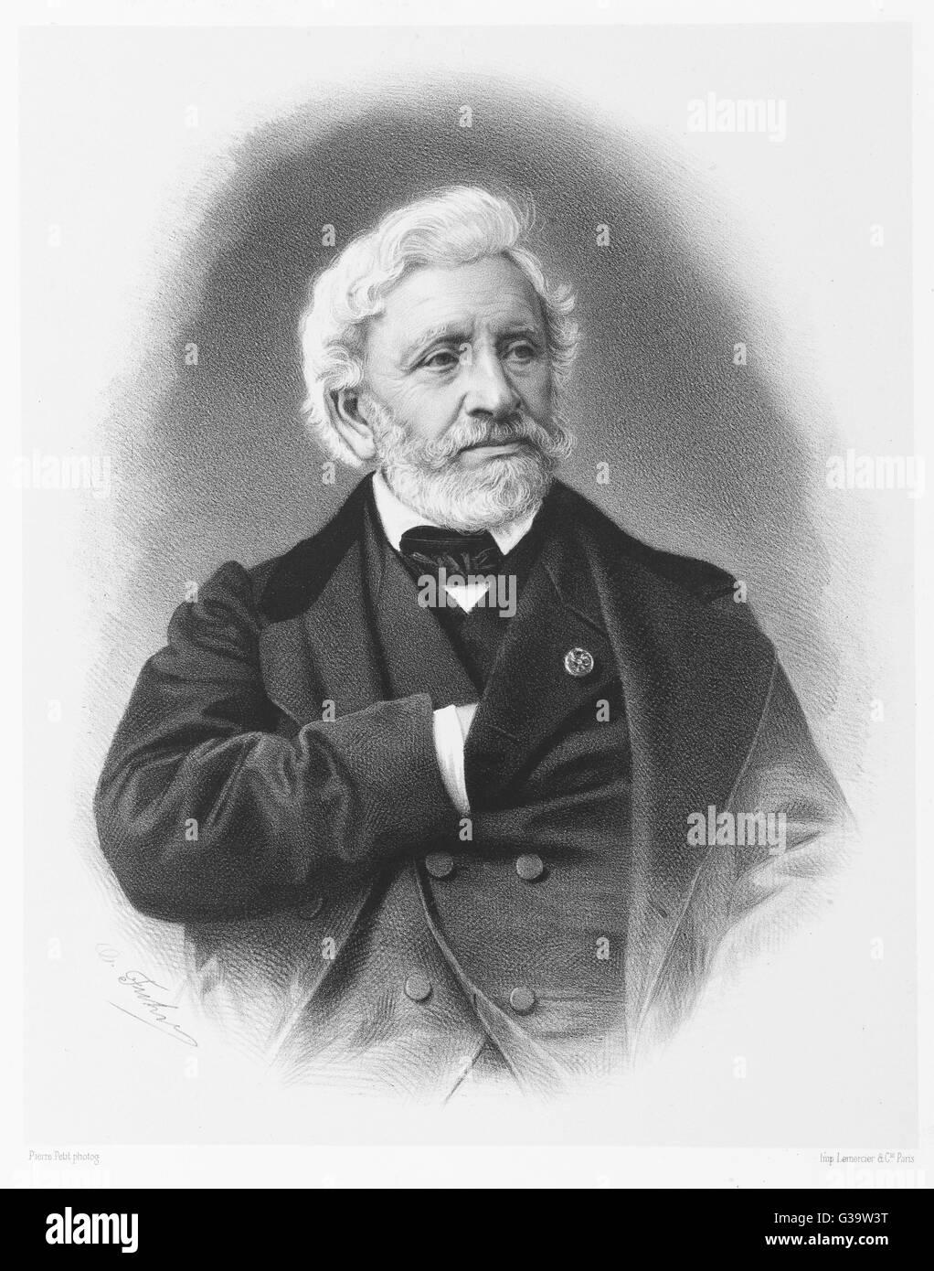 FRANCOIS FORSTER  Swiss engraver        Date: 1790 - 1872 - Stock Image