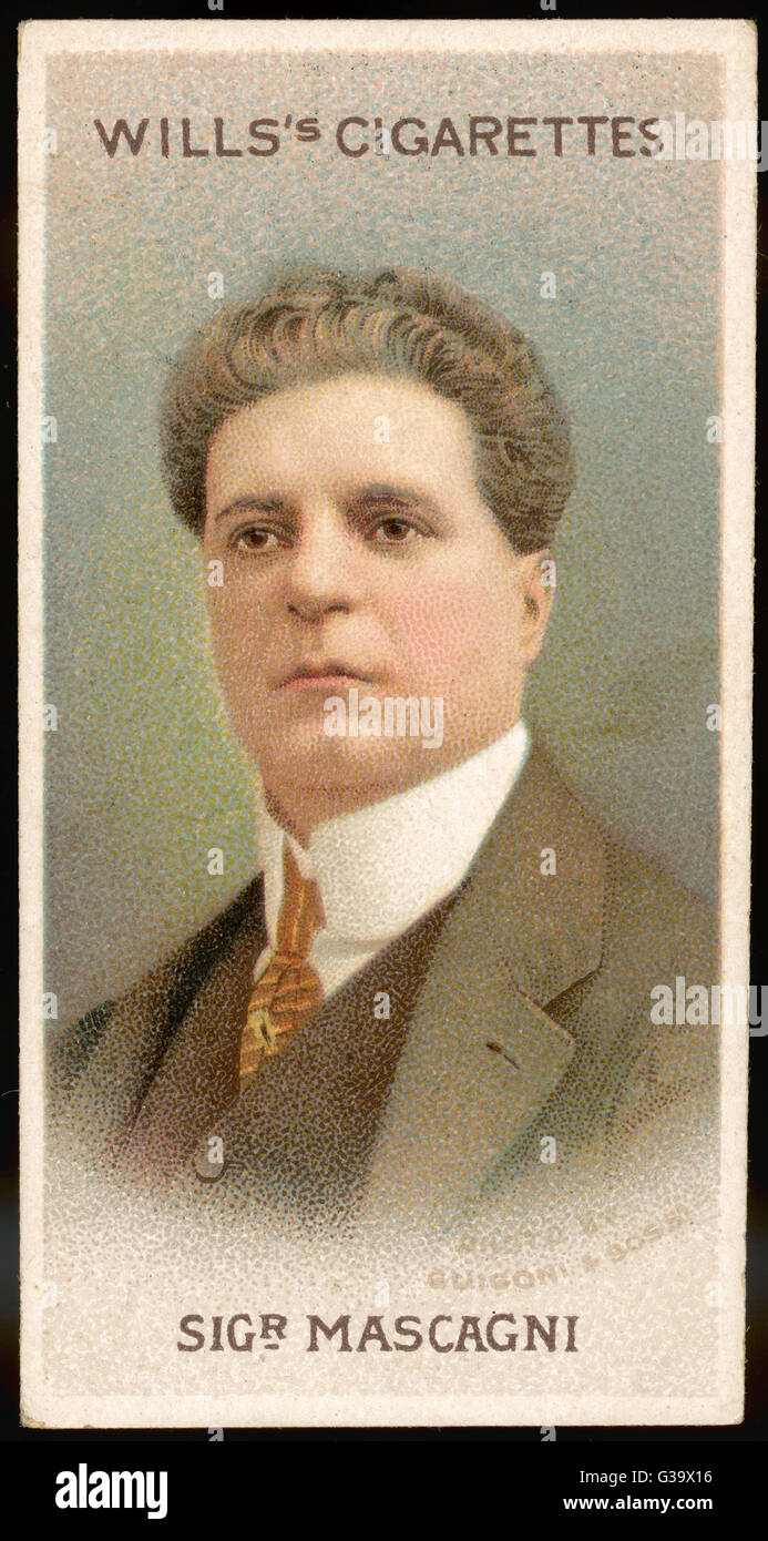 Entertainment Memorabilia Classical, Opera & Ballet Pietro Mascagni Italian Verismo Opera Composer Conductor Vintage Photo Signed