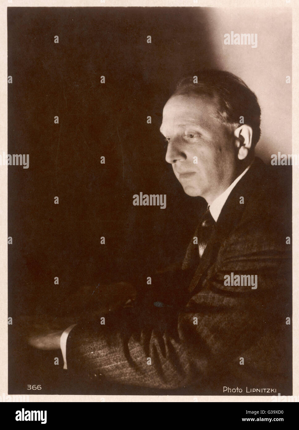 PAUL PARAY  French musician        Date: 1886 - 1979 - Stock Image