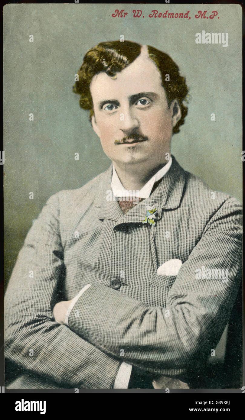 JOHN EDWARD REDMOND  Irish political leader        Date: 1856 - 1918 - Stock Image