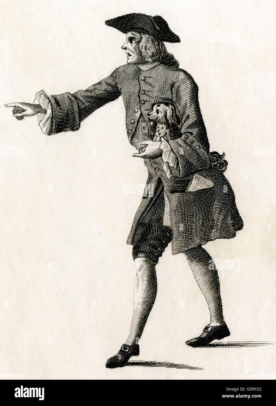 THOMAS RYMER  English critic and writer        Date: 1641 - 1713 - Stock Image