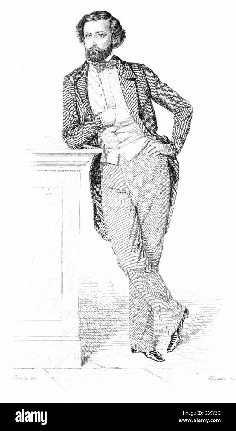 FELIX PYAT  French journalist and  communist       Date: 1810 - 1889 - Stock Image