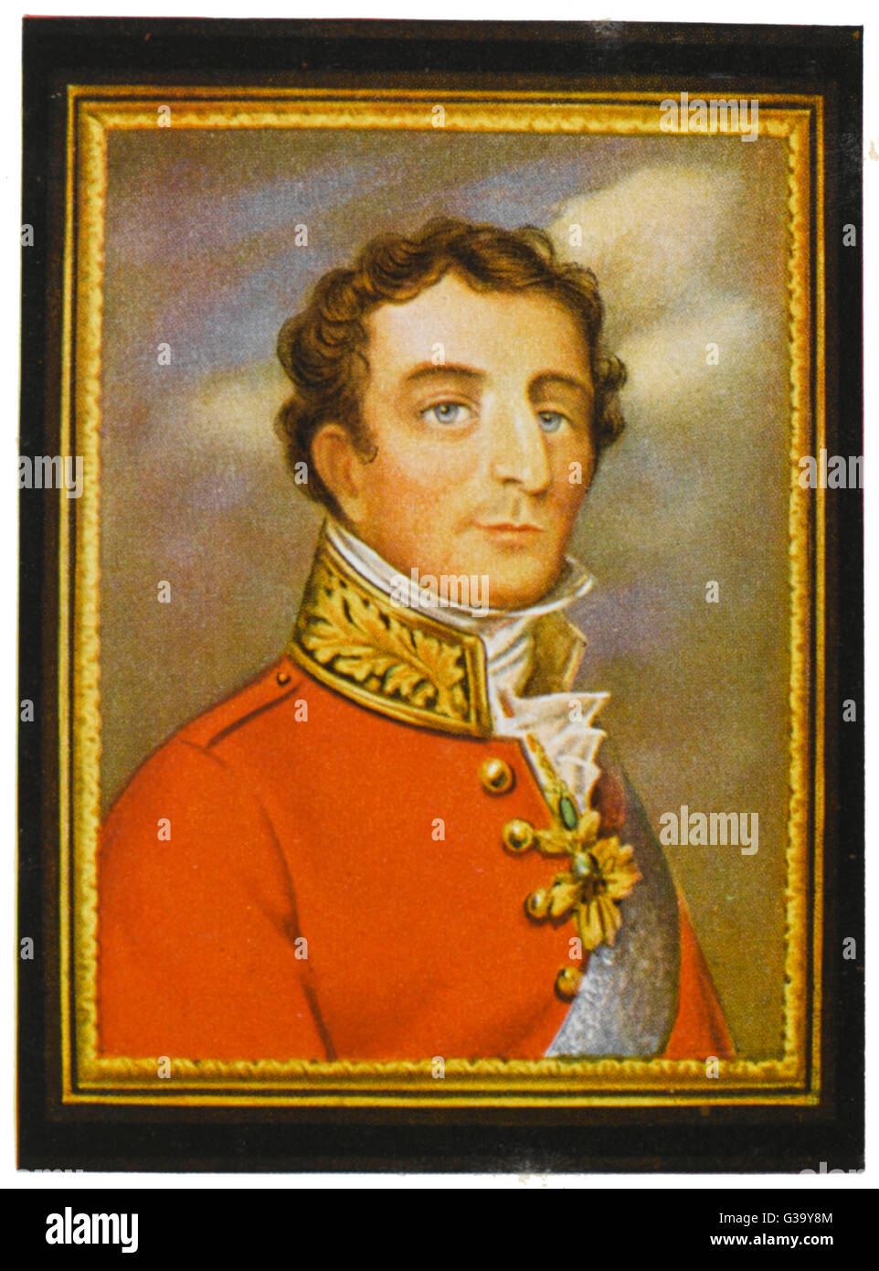 Arthur Wellesley, duke of  Wellington, soldier and  statesman        Date: 1769 - 1852 - Stock Image
