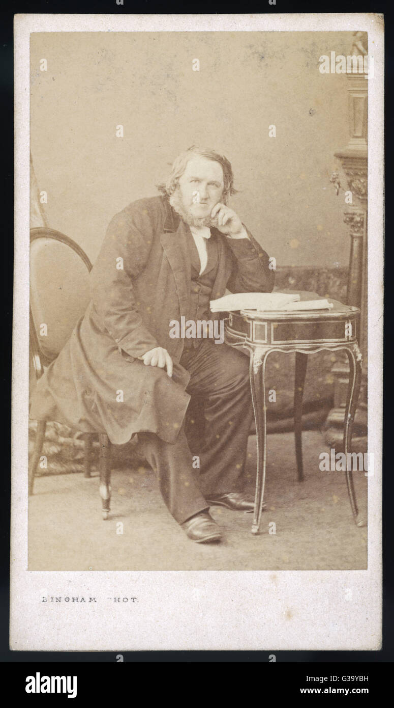 SIR JAMES YOUNG SIMPSON  Scottish physician, first to  use ether as an anaesthetic  in obstetric practice      Date: - Stock Image