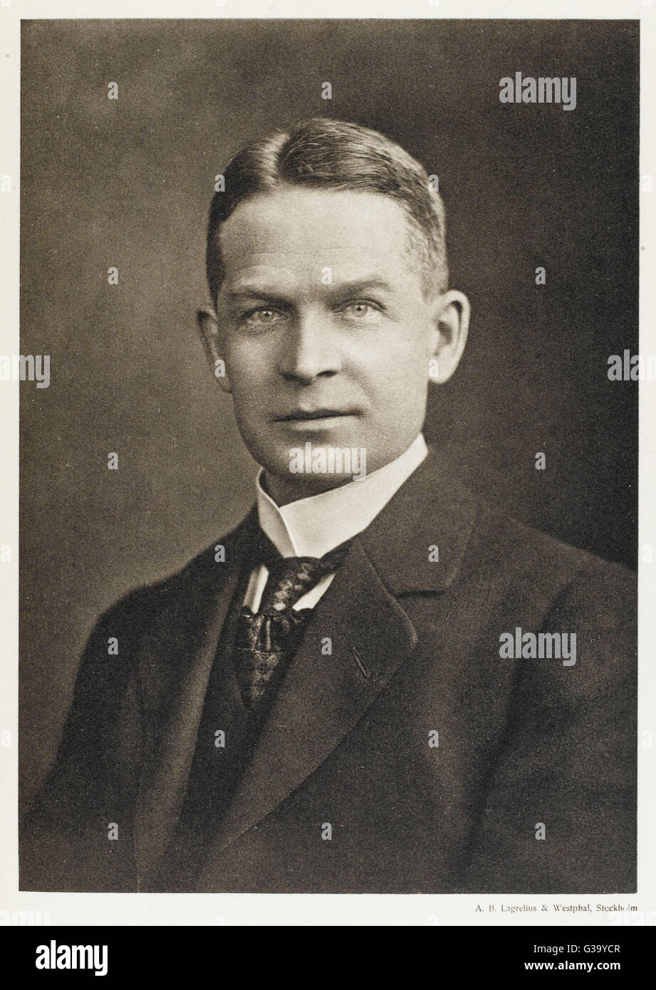FREDERICK SODDY  English chemist        Date: 1877 - 1956 Stock Photo