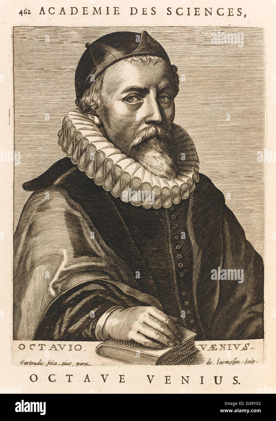 OTTO VAN VEEN Or OCTAVIUS VAENIUS Dutch Painter, Teacher Of Rubens Date:  1556