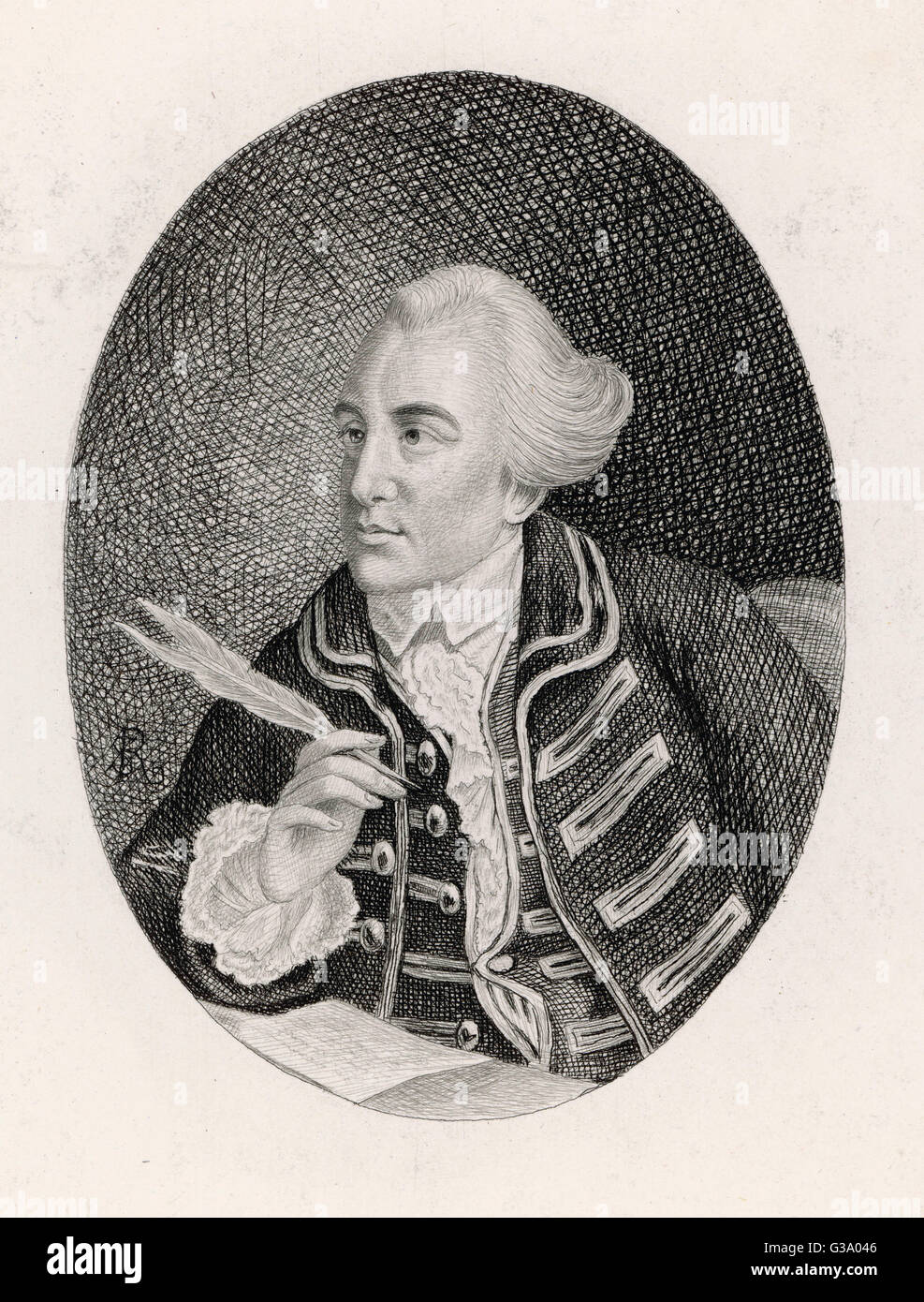JOHN WILKES  English politician and reformer       Date: 1725 - 1797 - Stock Image