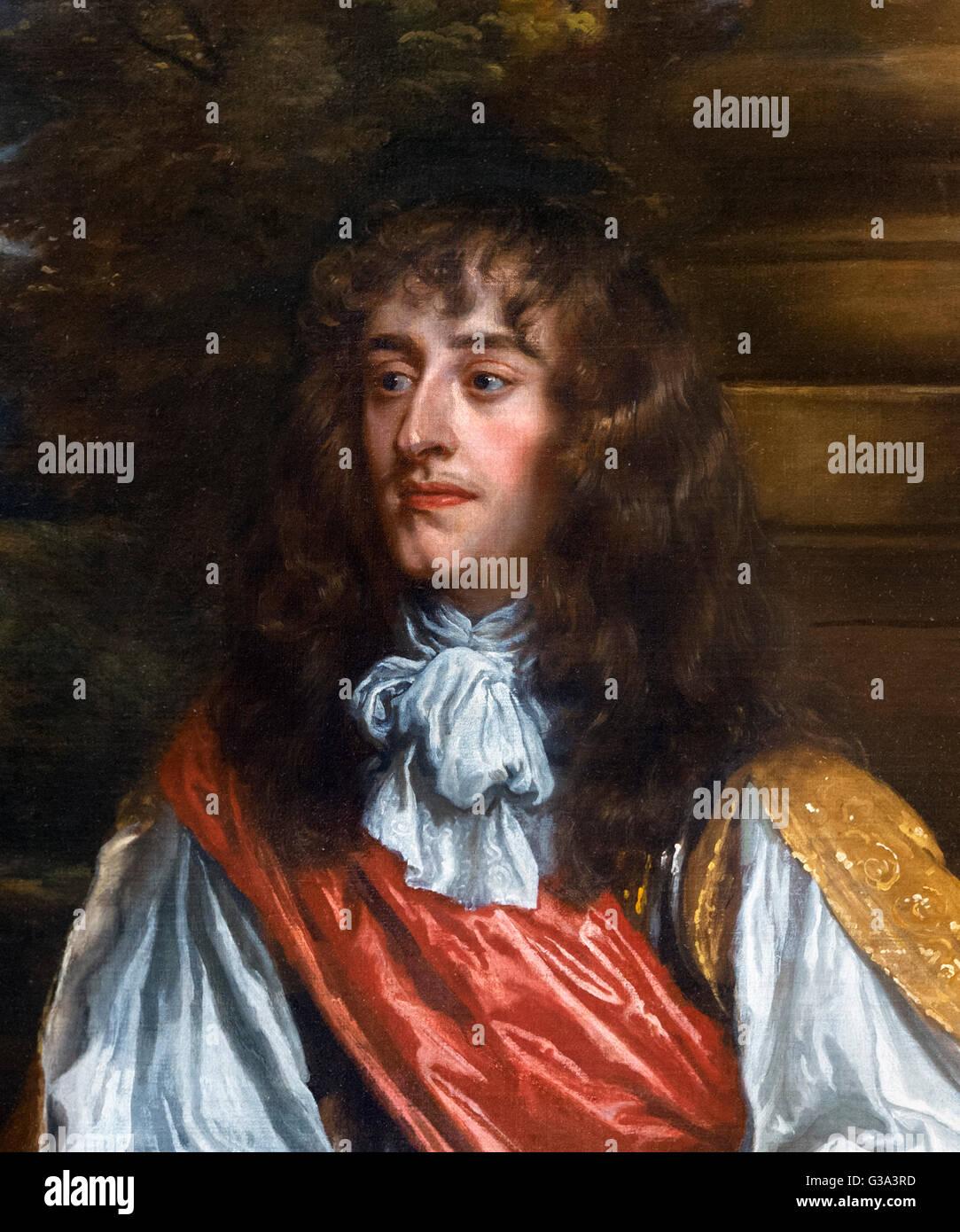 James II and VII (1633–1701), King of England and Ireland as James II and King of Scotland as James VII. Portrait - Stock Image