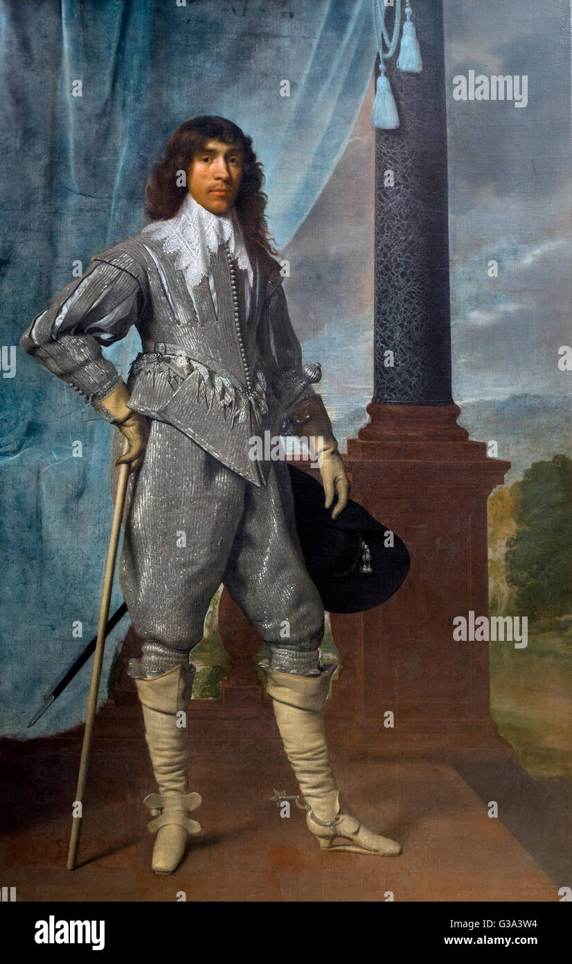 James Hamilton, 1st Duke of Hamilton (1606-1649), a Scottish nobleman and influential political and military leader, - Stock Image