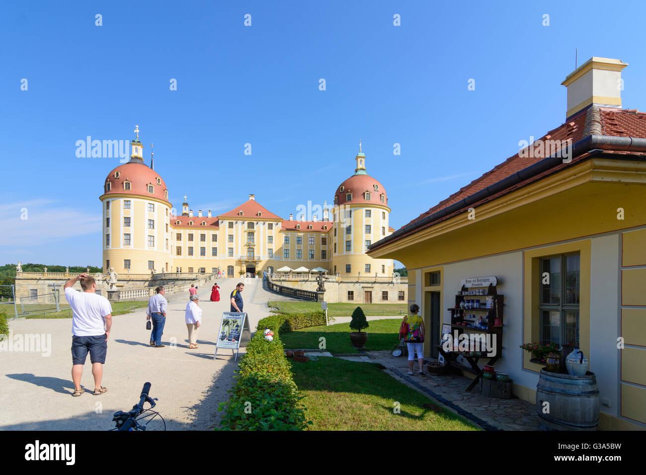 Moritzburg castle, Kavaliershaus, Germany, Sachsen, Saxony, , Moritzburg Stock Photo