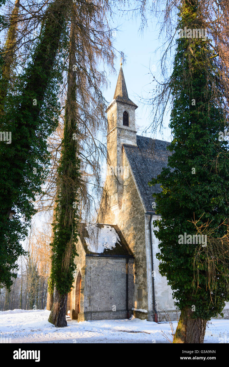 Chiemsee : Island Herrenchiemsee: St. Mary's Chapel, Germany, Bayern, Bavaria, Oberbayern, Chiemsee, Upper Bavaria, - Stock Image