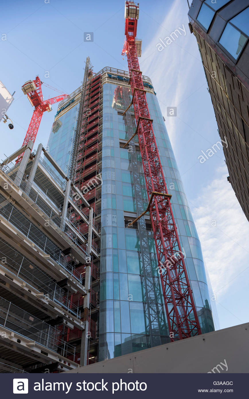 One Angel Court Redevelopment - Bank - Stock Image