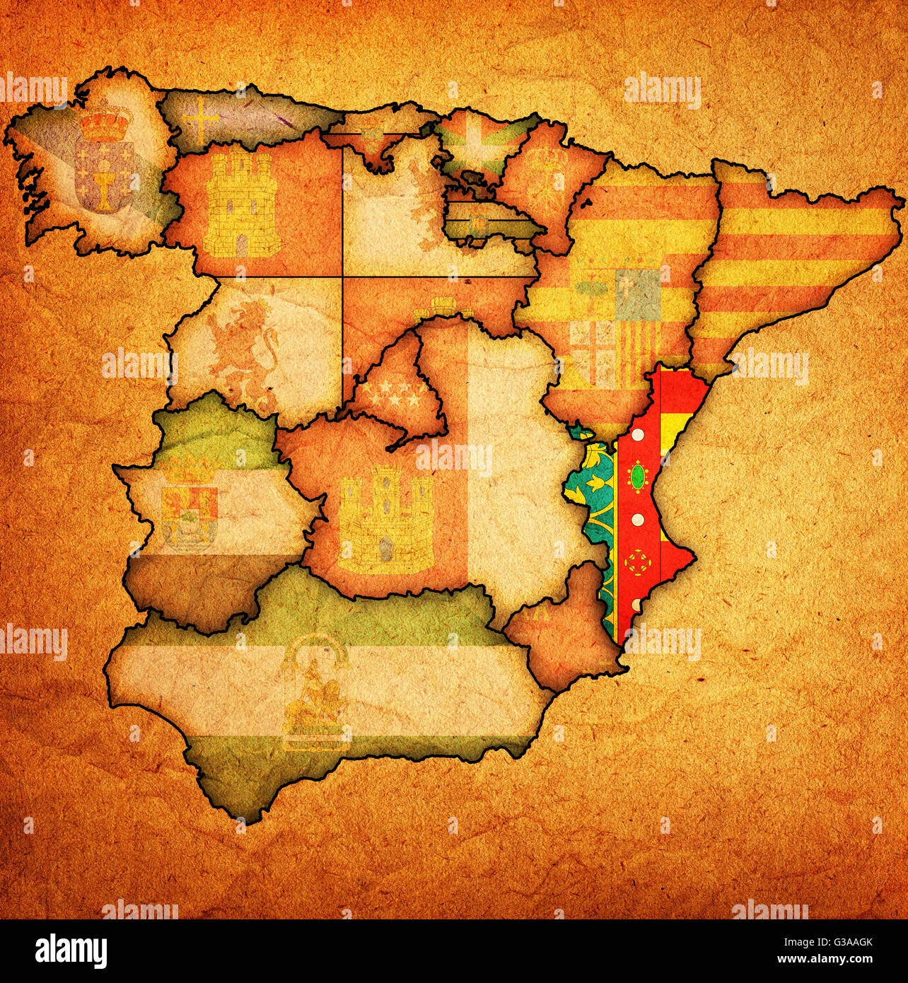 valencia region on administration map of regions of spain ... on venice italy region map, castilla y leon spain map, spain tourist map, castile map, galicia spain region map, madrid spain region map, barcelona spain region map, hong kong china region map, rioja spain wine region map,