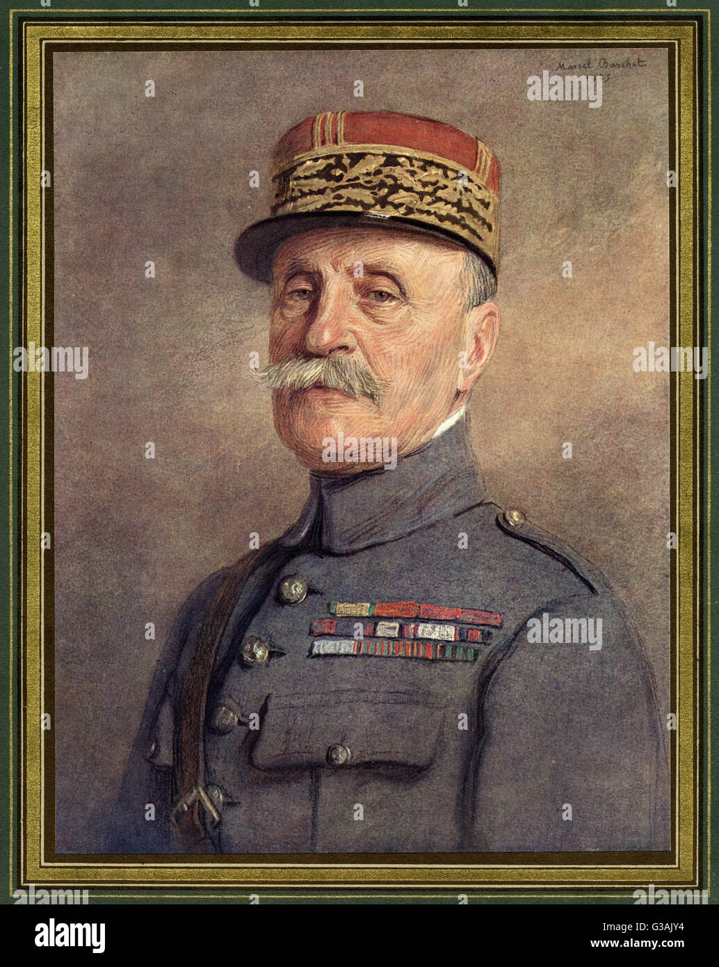 Philippe Petain (1856  1951), French general and politician.     Date: 1925 - Stock Image