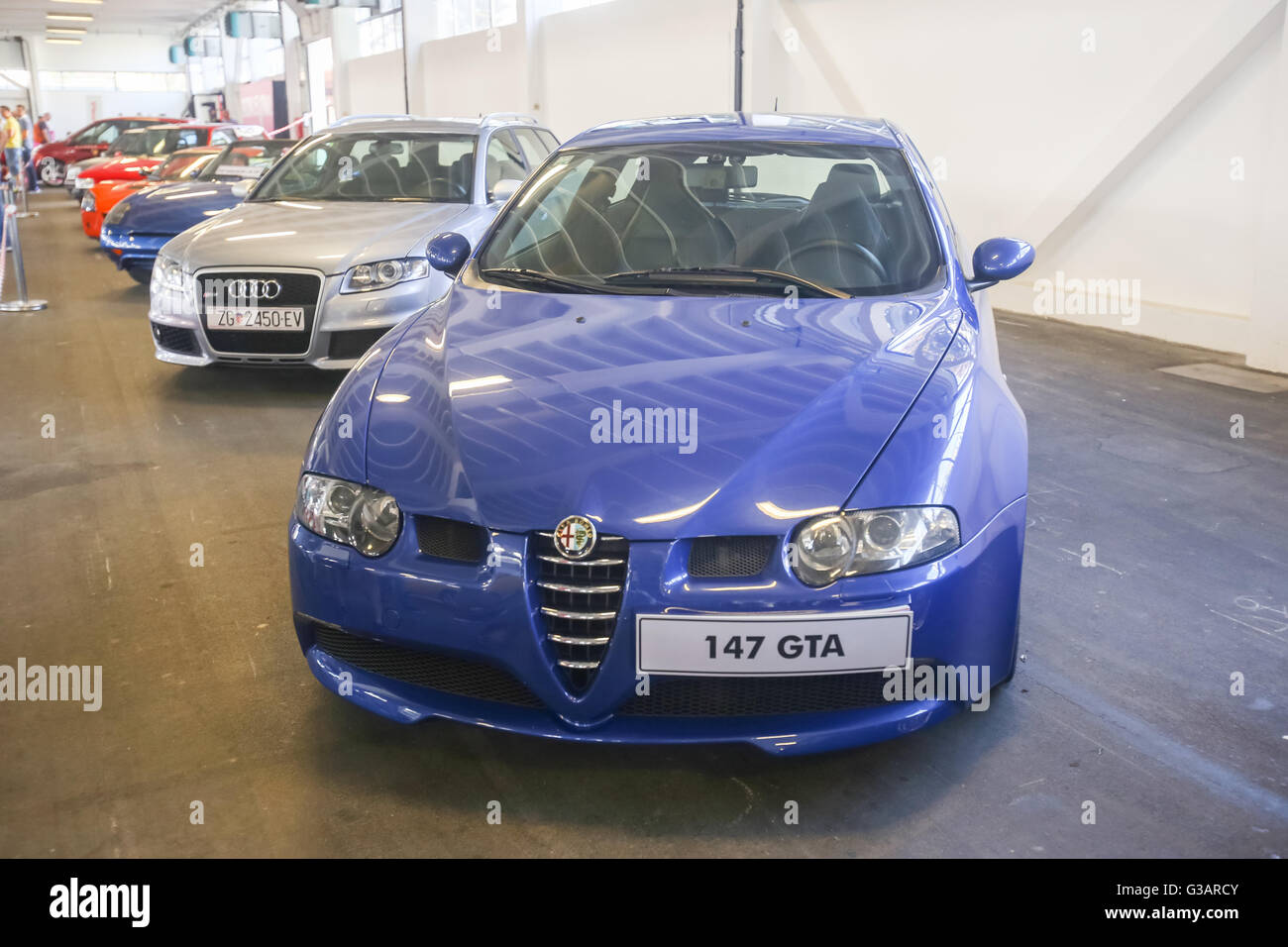 A Alfa Romeo 147 Gta Exhibited At Fast And Furious Street Race In Stock Photo Alamy