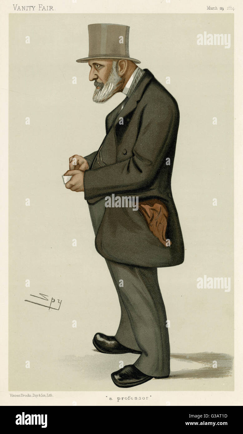 James Edwin Thorold Rogers (1823 - 1890), English economist, historian and Liberal politician who sat in the House - Stock Image