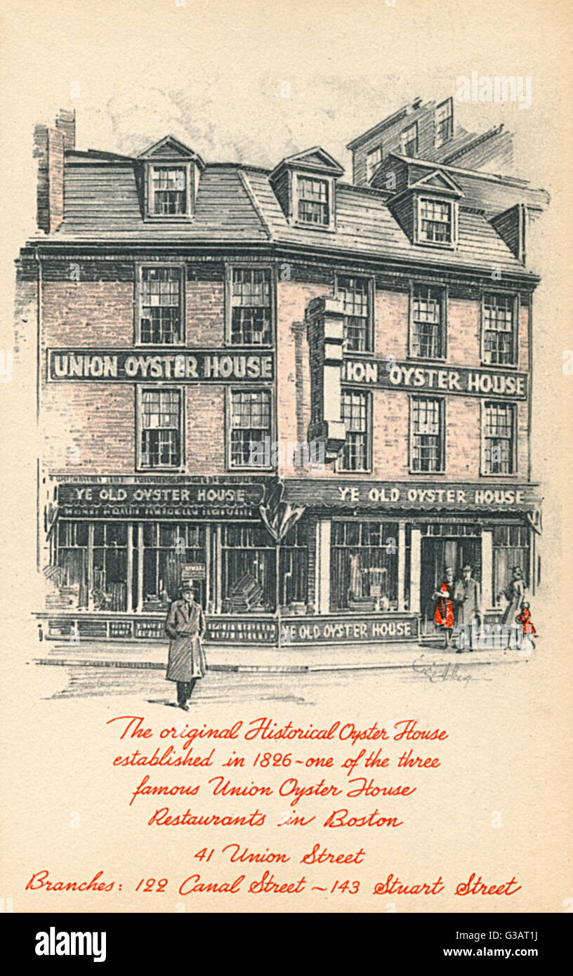 The Original Oyster House Union Street Boston