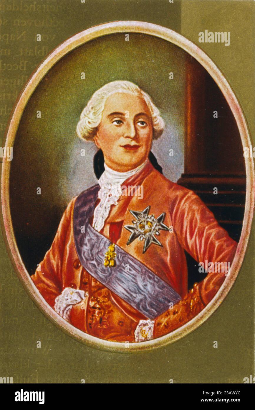 LOUIS XVI           Date: 1754 - 1793 - Stock Image