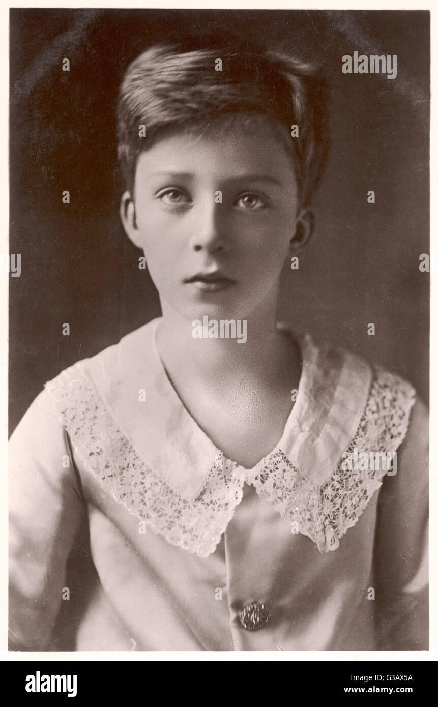 LEOPOLD III  King of Belgium (1934-51) as a little boy, when  Duke of Brabant      Date: 1901 - 1983 - Stock Image