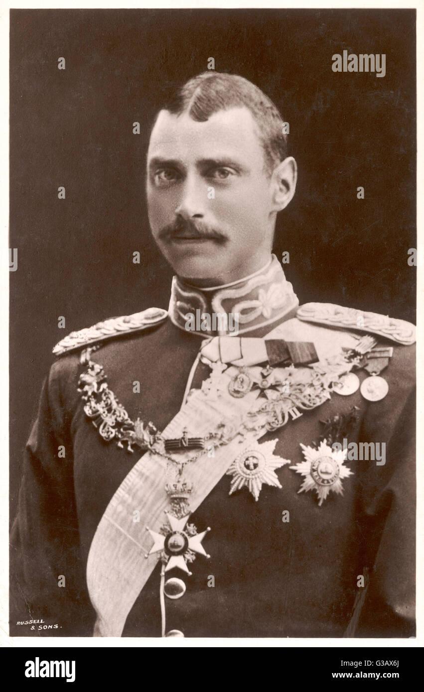 CHRISTIAN X  King of Denmark (1912-47)       Date: 1870 - 1947 - Stock Image