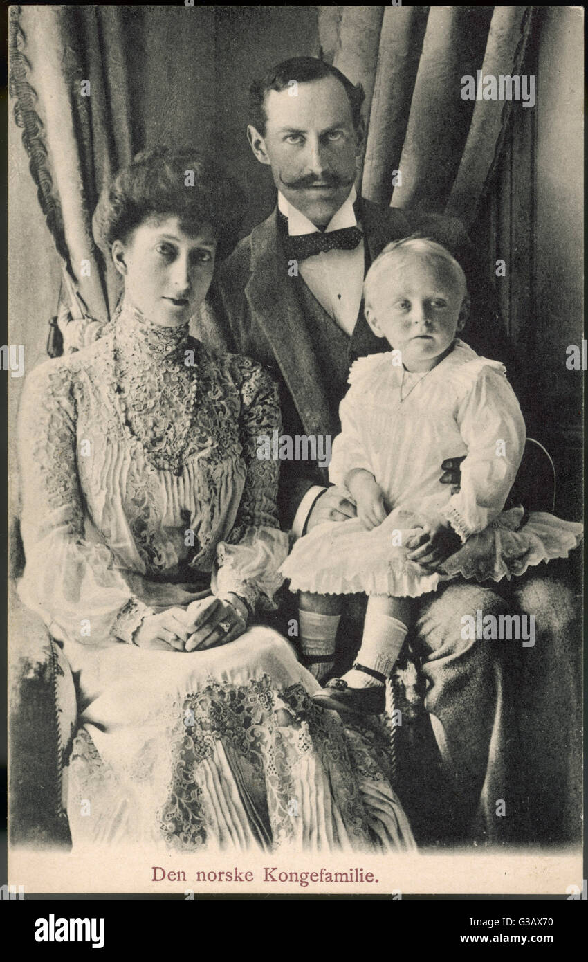 HAAKON VII King Of Norway 1905 57 Formerly Prince Charles Denmark