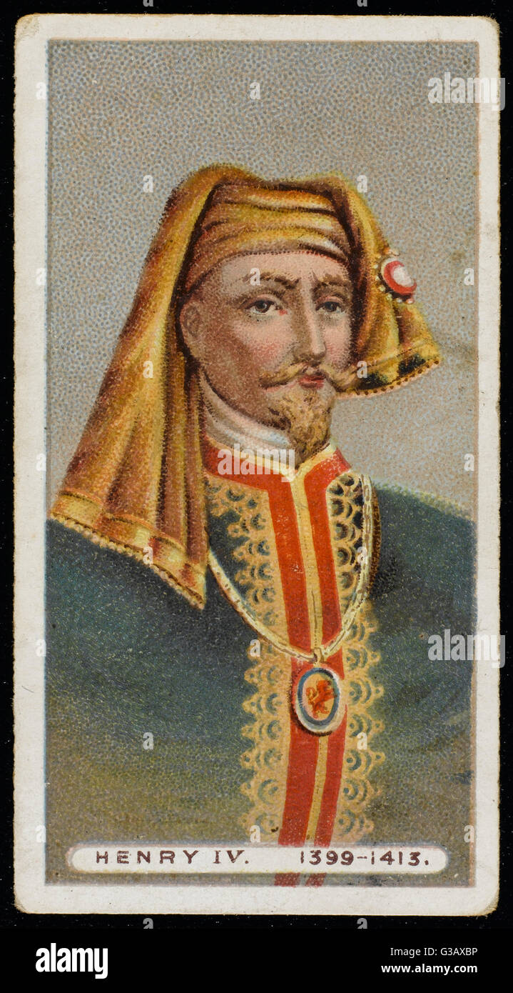 HENRY IV OF ENGLAND (1366 - 1413)  King of England  (1399-1413) - Stock Image