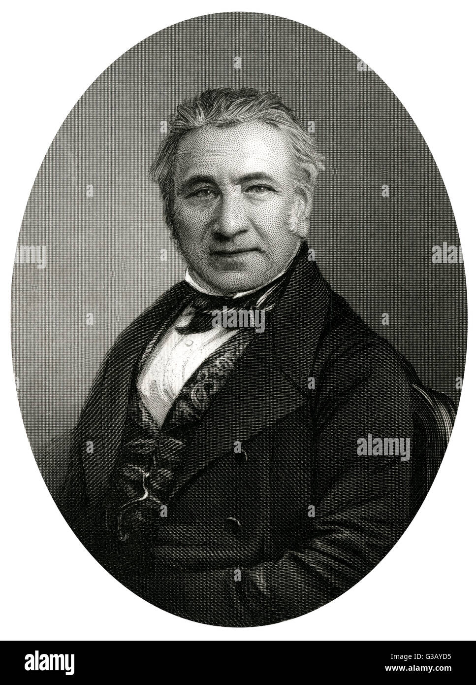 MARSHALL HALL  physiologist and physician        Date: 1790 - 1857 - Stock Image