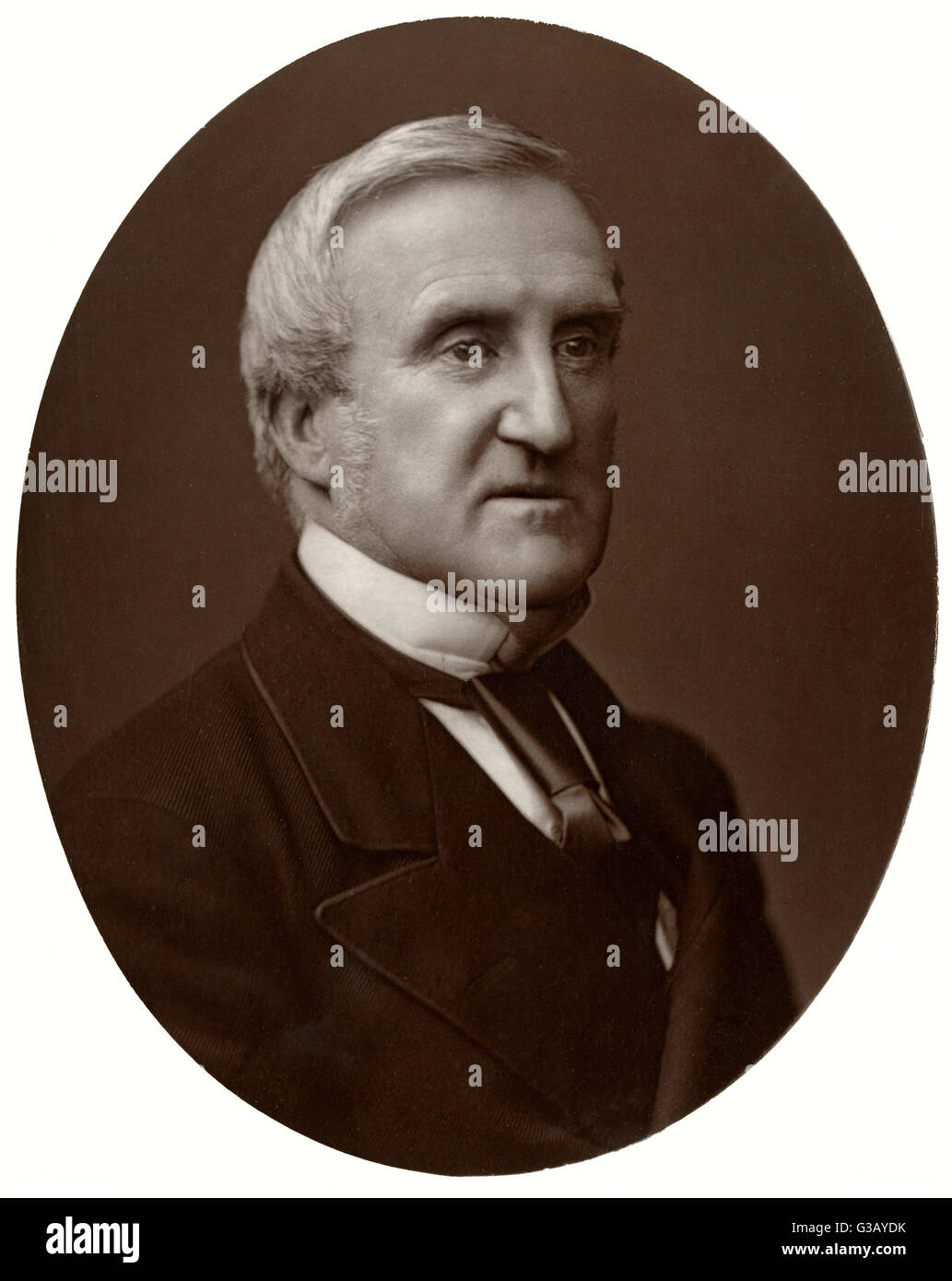 SIR CHARLES HALL lawyer, earning 10 000 per  annum in the Chancery Court  (say 1m today) ; no wonder he  turned - Stock Image