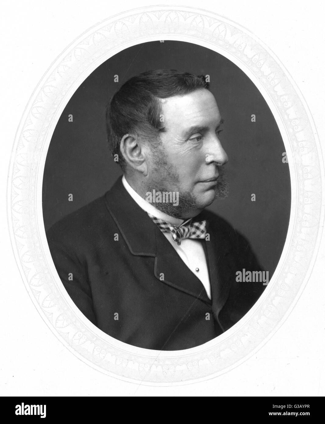 Sir George Jessel  lawyer        Date: 1824 - 1883 - Stock Image