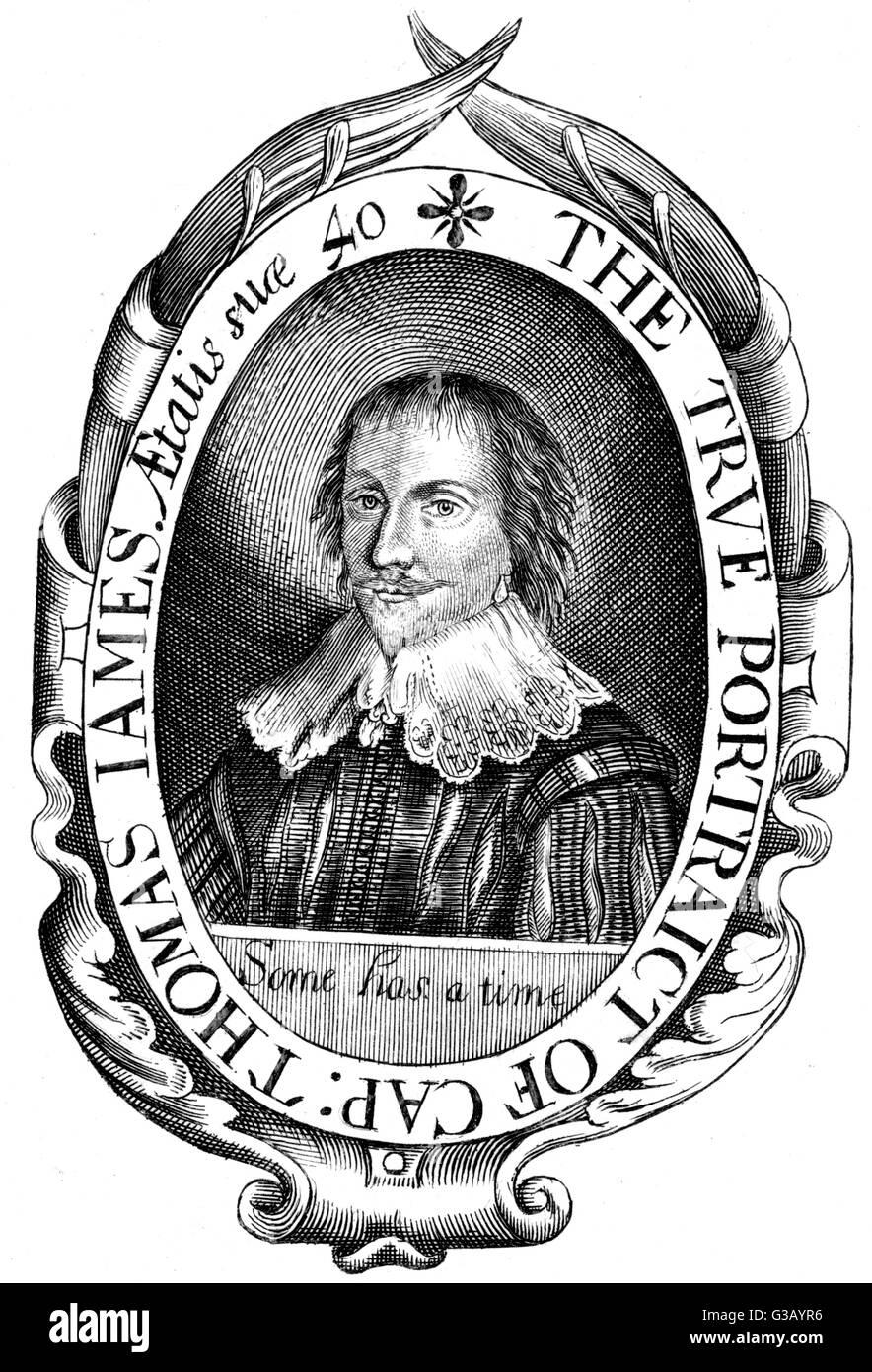 THOMAS JAMES  Arctic navigator        Date: 1593 - 1635 - Stock Image