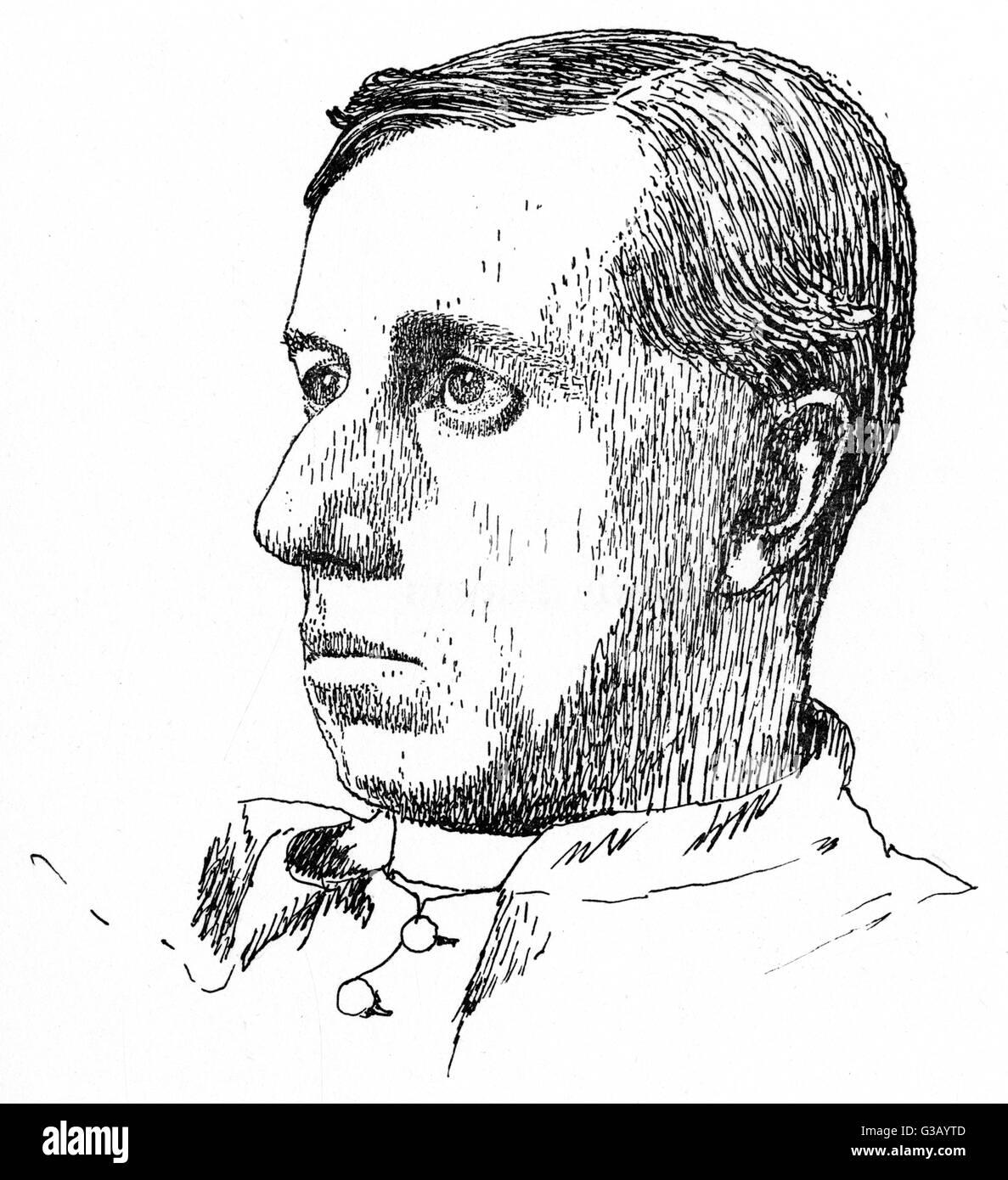 RONALD KNOX  writer        Date: 1888 - 1957 - Stock Image