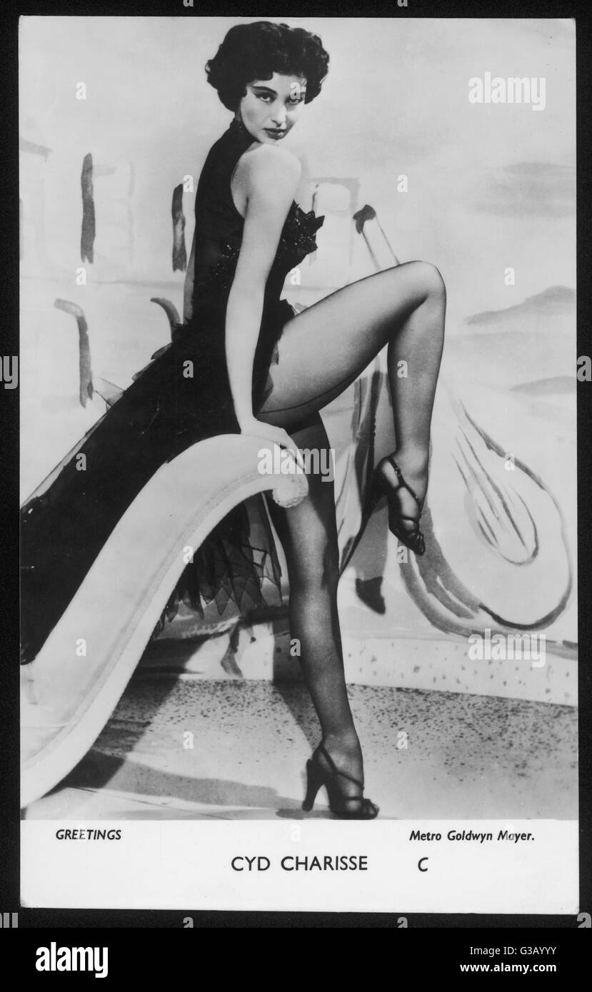 3cbd08fa2ba CYD CHARISSE Dancer and film actress Date  1921 - - Stock Image