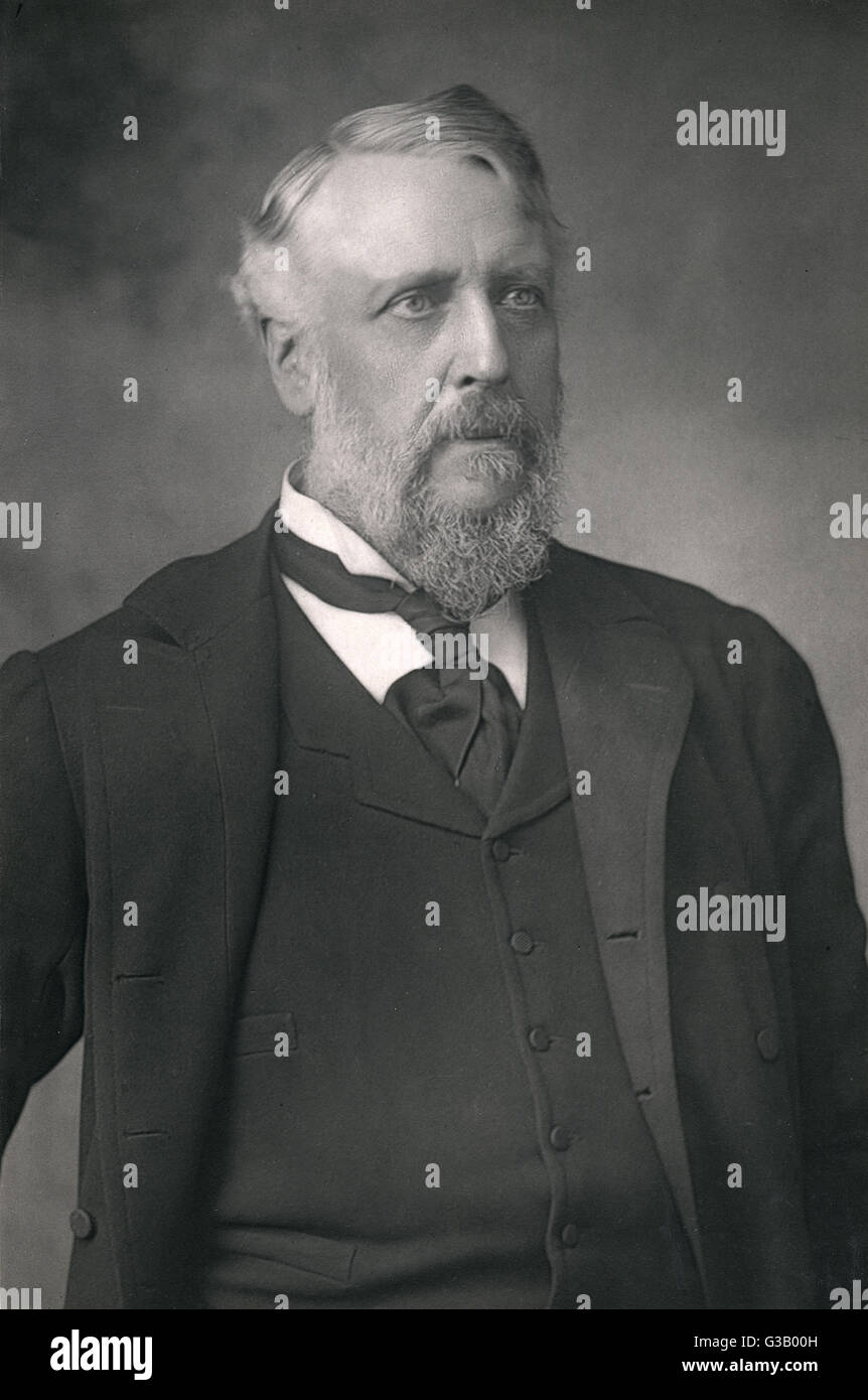 SIR WILLIAM MAC CORMAC  medical        Date: 1836 - 1901 - Stock Image