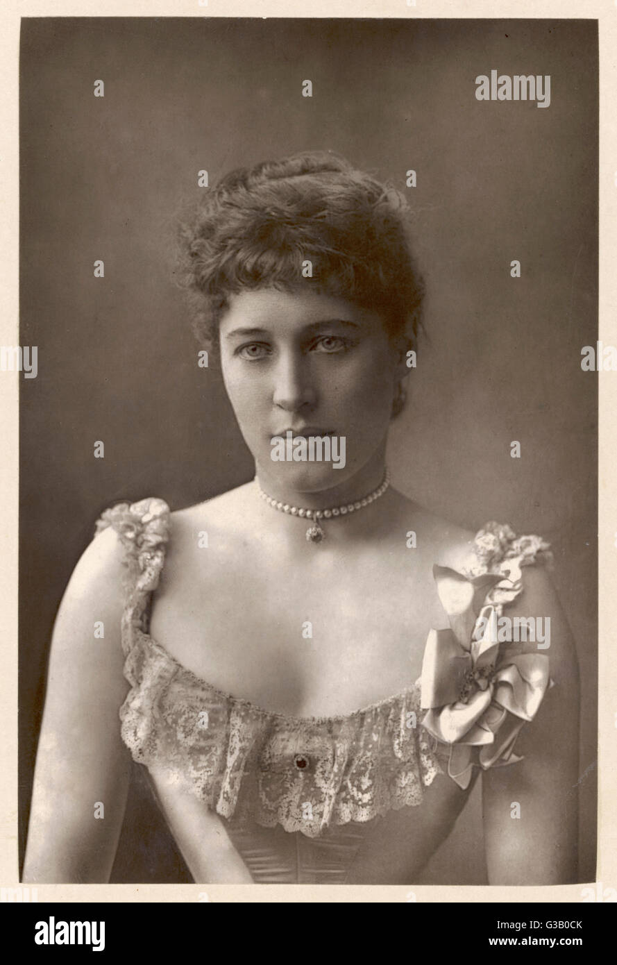 LILY LANGTRY  English actress         Date: 1852 - 1929 - Stock Image