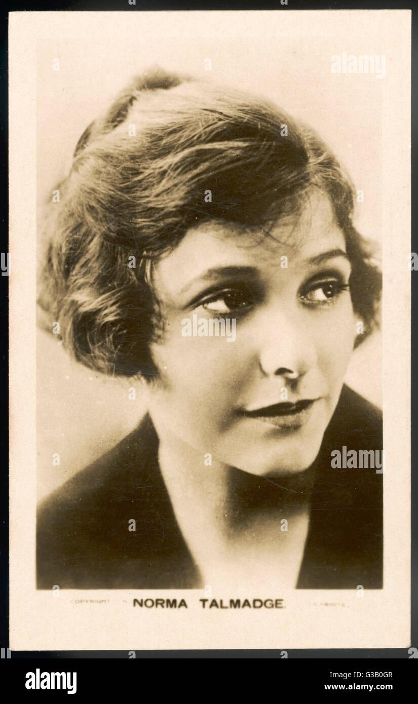 NORMA TALMADGE  American silent  film actress       Date: 1897 - 1957 - Stock Image