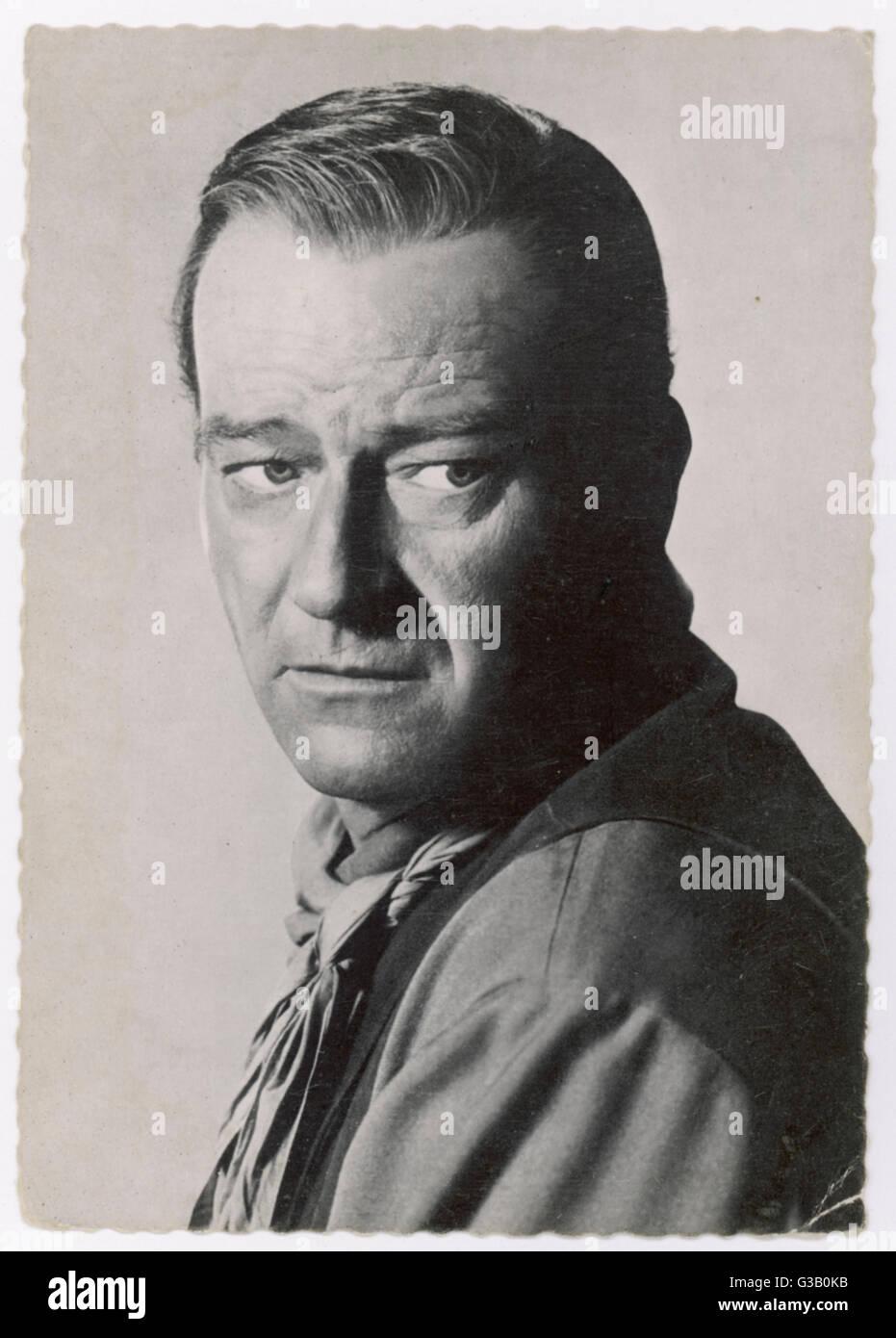 John Wayne (1907-1979) American film actor - Stock Image