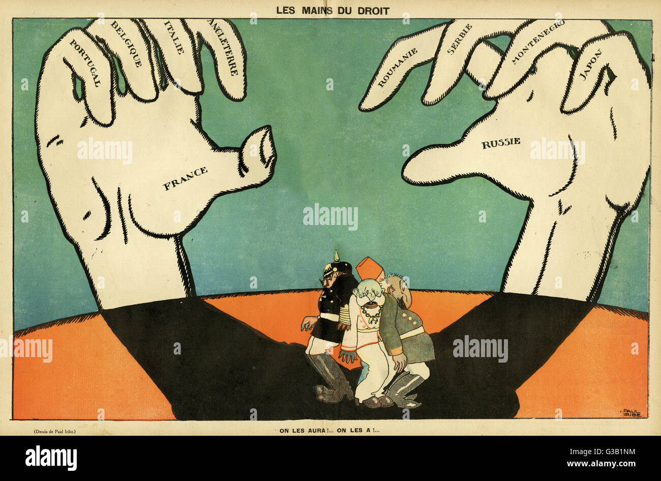 Germany And Allied Powers Stock Photos & Germany And Allied