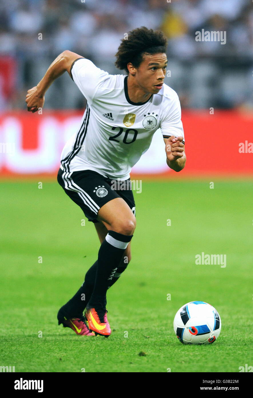 Leroy Sane during a friendly match with the german national team. Stock Photo