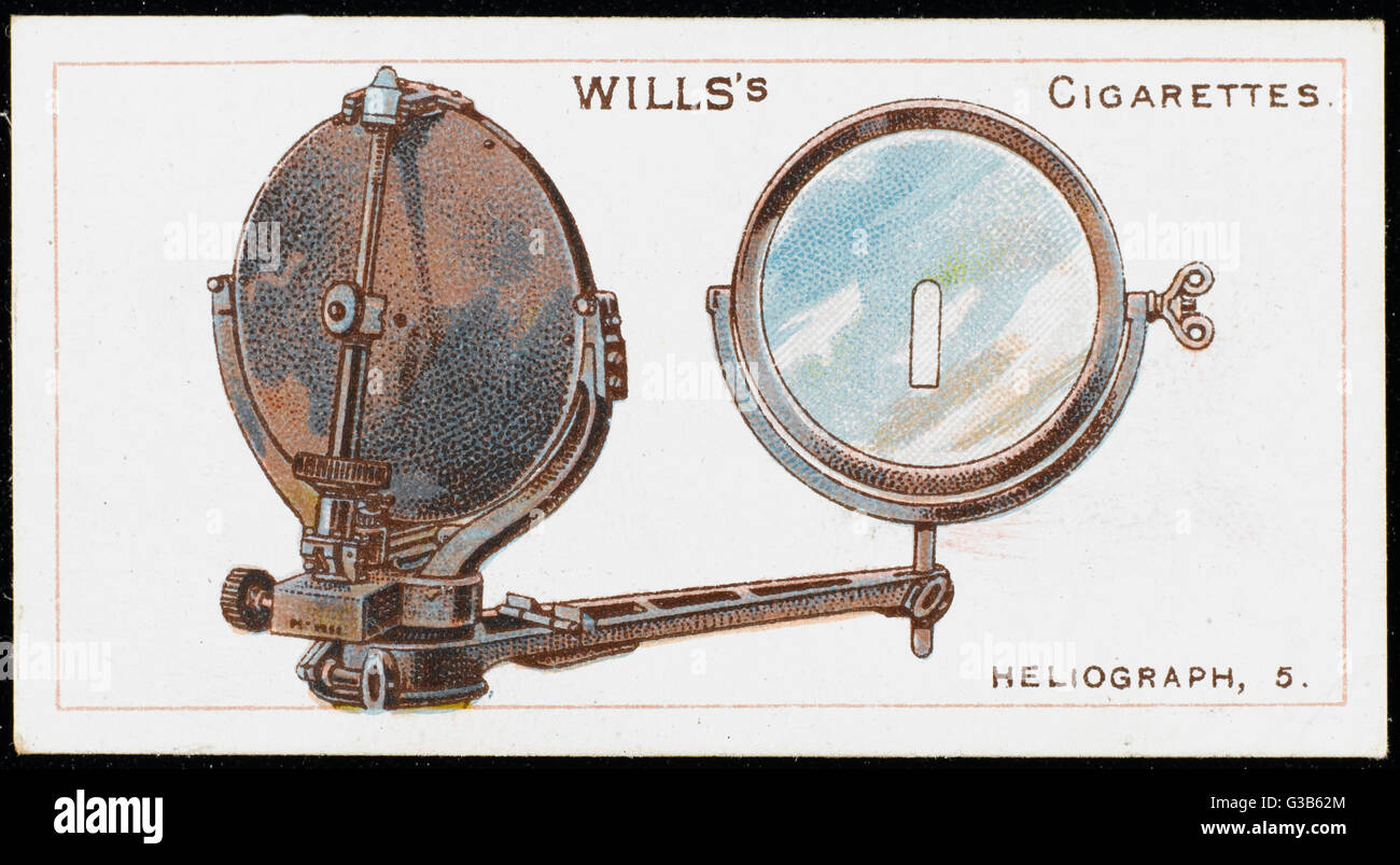 The Works Of The Type Of Heliograph Used By The Royal Navy