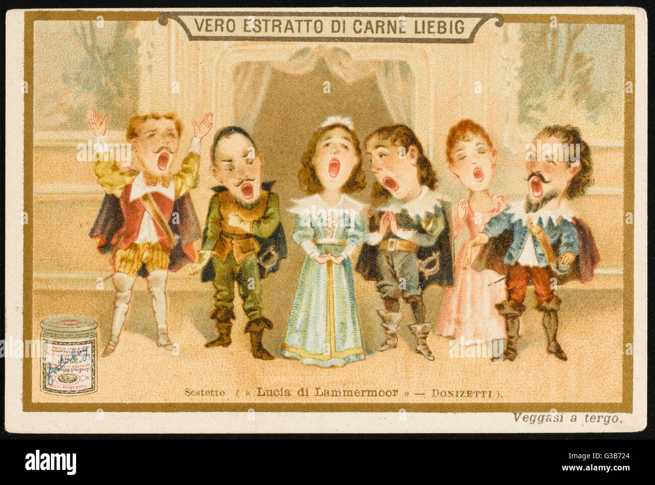 The sextet in Act Two,  considered by some (including  me) to be one of the finest  moments in opera...       Date: - Stock Image